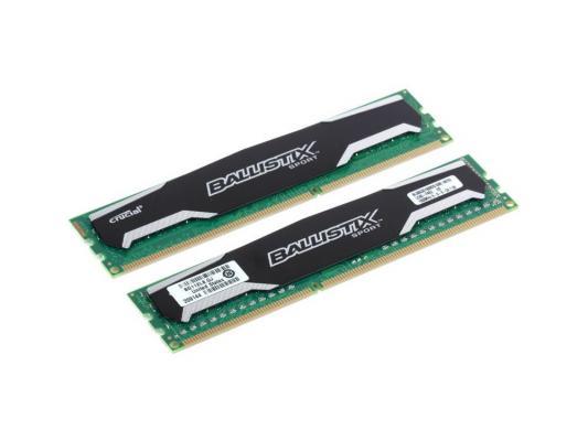 Оперативная память 16Gb (2x8Gb) PC3-12800 1600MHz DDR3 DIMM CL9 Crucial Ballistix Sport BLS2CP8G3D1609DS1S00CEU оперативная память 16gb 2x8gb pc3 12800 1600mhz ddr3 dimm crucial blt2cp8g3d1608dt2txrgceu