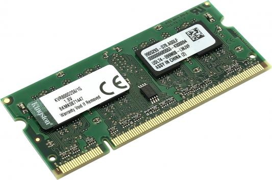 Оперативная память SO-DIMM DDR2 Kingston 1Gb (pc-6400) 800MHz (KVR800D2S6/1G)