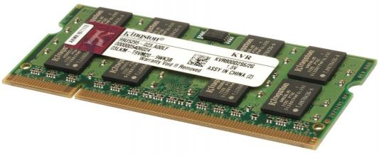 Оперативная память SO-DIMM DDR2 Kingston 2Gb (pc-6400) 800MHz (KVR800D2S6/2G) 2 гб ddr dimm 200 266 мгц