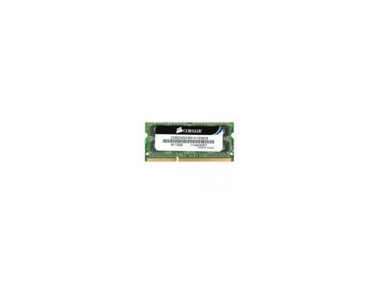 Оперативная память SO-DIMM DDR3 Corsair 4Gb (pc-10600) 1333MHz Corsair (CMSO4GX3M1A1333C9)