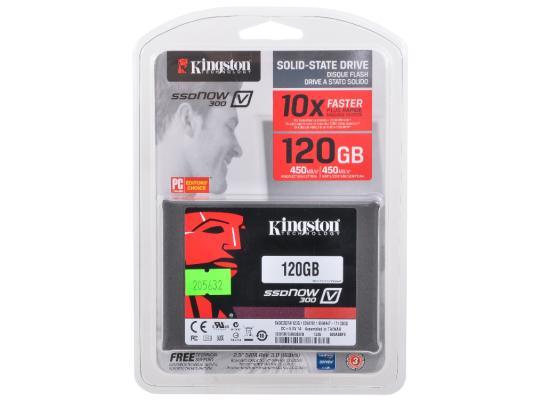 "2.5"" Твердотельный накопитель SSD 120 Gb Kingston  (SV300S37A/120G) SATA 3 V300 Series"