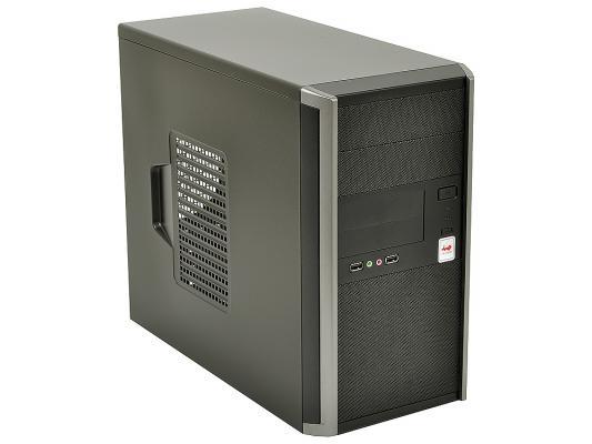 Корпус microATX InWin EMR035 450 Вт серебристый чёрный