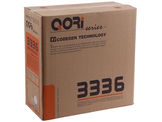 Корпус ATX Super Power Q3336 A11 450 Вт чёрный серебристый