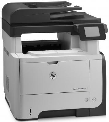 МФУ HP LaserJet Pro M521dw принтер/сканер/копир/факс, A4, 40стр/мин, дуплекс, 256Мб, USB, Ethernet, WiFi