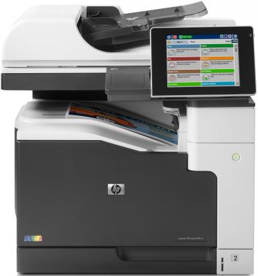 МФУ HP Color LaserJet Ent. 700 M775dn <CC522A> принтер/сканер/копир/эл.почта, A3, 30стр/мин, дуплекс, 1536Мб, HDD 320Гб, лотки 100+250, USB, LAN laserjet engine control power board for hp m775 m775dn 775 775dn rm1 8896 rm1 8895 voltage power supply board