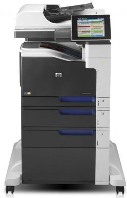 МФУ HP Color LaserJet Ent. 700 M775f <CC523A> принтер/сканер/копир/факс/эл.почта, A3, 30стр/мин, дуплекс, 1536Мб, HDD 320Гб, лотки 100+250+2*500, USB, мфу hp laserjet enterprise color m775f cc523a