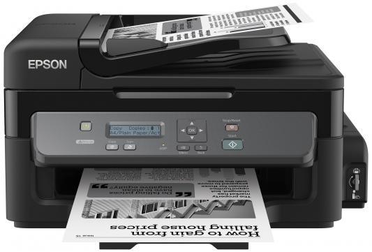 МФУ Epson M200 (стр.+сканер/копир, Монохромная Фабрика Печати, 34ppm, 1440dpi, струйный, A4, USB 2.0, LAN)