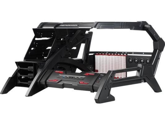 Корпус ATX Aerocool Strike-X Air Без БП чёрный красный EN56830