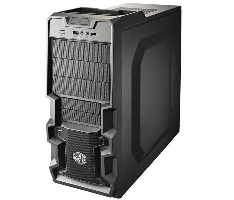 Корпус ATX Cooler Master K280 Без БП чёрный RC-K280-KKN1 корпус atx cooler master haf x 942 без бп чёрный rc 942 kkn1