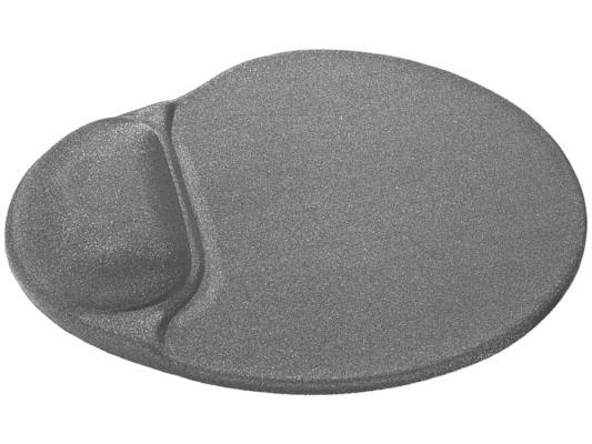 Коврик для  мыши Defender гелевый Easy Work (серая лайкра) нескользящ.основа,260х225х5мм коврик для мыши defender гелевый easy work ergo черная лайкра нескользящ основа 260х225х5мм 50905