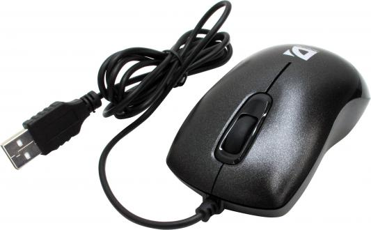 Мышь проводная DEFENDER Orion 300 B чёрный USB 52813 мышь defender orion 300 g usb