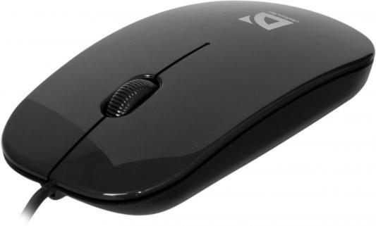 Мышь проводная DEFENDER NetSprinter 440 чёрный USB 52440