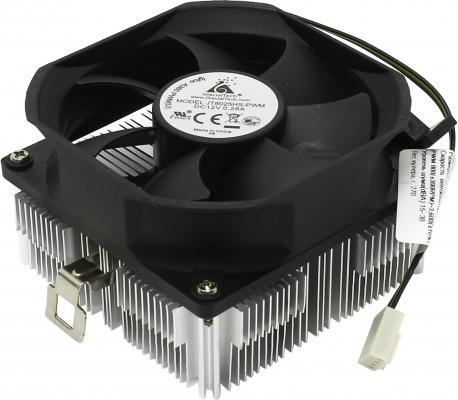 Кулер Glacialtech Igloo A360 PWM Кулер AMD FM1, AM2, AM2+, AM3/125W/800-3600 RPM/15-38dBa/втулка/Oem/2.4W max