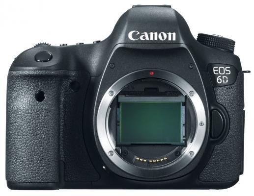 Зеркальный фотоаппарат Canon EOS 6D Body black (8035B004) зеркальный цифровой фотоаппарат canon eos 7d mark ii body