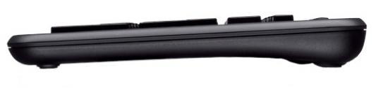 Клавиатура Logitech K360 USB черный 920-003095 клавиатура logitech wireless keyboard k360 black usb [920 003095]
