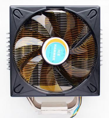 Кулер Ice Hammer IH-4700 <SocketAM3/LGA775/1366/1156/1155, т/трубки 6шт*6мм, Cu Base> ih 4700