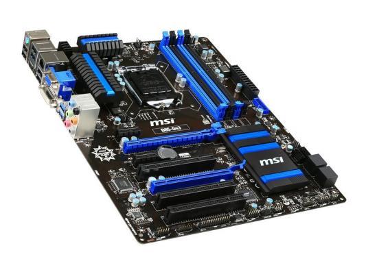Материнская плата для ПК MSI B85-G43 Socket 1150 B85 4xDDR3 2xPCI-E 16x 3xPCI 2xPCI-E 1x 2xSATA II 4xSATAIII ATX Retail