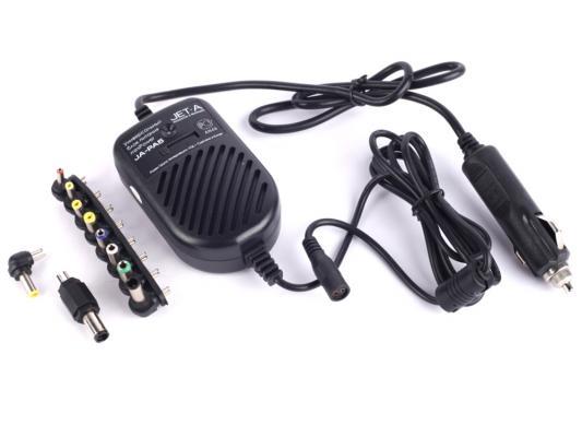 Универсальный адаптер питания для ноутбуков Jet.A miniPower JA-PA5 80Вт от прикуривателя авто
