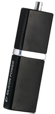 Внешний накопитель 8GB USB Drive <USB 2.0> Silicon Power LuxMini 710 Black