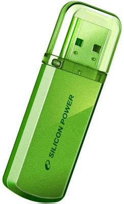 все цены на Внешний накопитель 32GB USB Drive <USB 2.0> Silicon Power Helios 101 Green SP032GBUF2101V1N онлайн