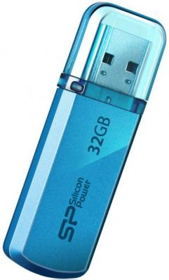 Внешний накопитель 32GB USB Drive < .0> Silicon Power Helios 101 Blue SP032GBUF2101V1B