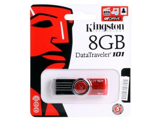 Внешний накопитель 8GB USB Drive <USB 2.0> Kingston DT101G2 (DT101G2/8GB)