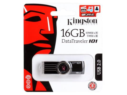 Внешний накопитель 16GB USB Drive <USB 2.0> Kingston DT101G2 (DT101G2/16GB) new bt40 m16 fmb22 45l trs8r 63 22 4t face end mill 10pcs 8r rdmx1604motn carbide insert cnc milling lathe
