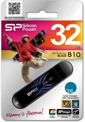������� ���������� 32GB USB Drive Silicon Power Blaze B10 SP032GBUF3B10V1B