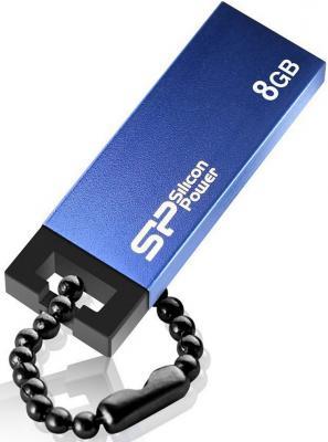 Внешний накопитель 8GB USB Drive <USB 2.0> Silicon Power Touch 835 Blue