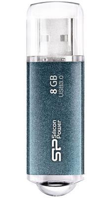 Внешний накопитель 8GB USB Drive <USB 3.0> Silicon Power M01 Blue
