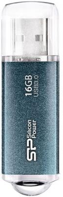 Внешний накопитель 16GB USB Drive <USB 3.0> Silicon Power M01 Blue SP016GBUF3M01V1B usb самсунг gt s5610
