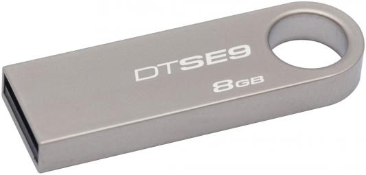 Внешний накопитель 8GB USB Drive <USB 2.0> Kingston DTSE9 (DTSE9H/8GB) usb flash drive 8gb kingston datatraveler locker g3 dtlpg3 8gb