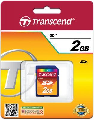 Карта памяти SDHC 2Gb Transcend TS2GSDC