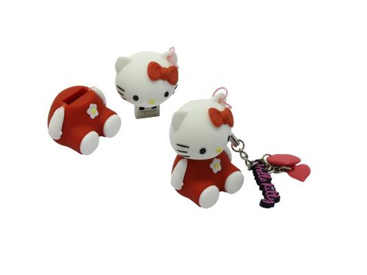Внешний накопитель 8GB USB Drive <USB 2.0> Iconik Hello Kitty Red