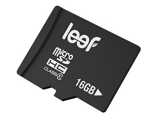 Карта памяти MicroSDHC 16GB Leef Class10 карта памяти leef microsdhc class 10 8gb