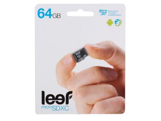 Карта памяти MicroSDXC 64GB Leef Class10 карта памяти microsdxc 64gb leef class10