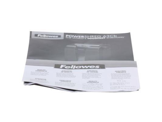 Уничтожитель бумаги Fellowes Powershred®  63Cb  Уровень секретности 3 / P-3 19лтр.  10лст бумага, скобы, скрепки, пластиковые карты
