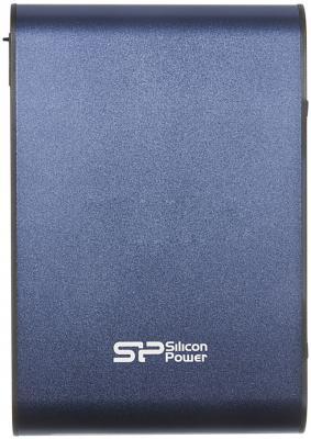 Внешний жесткий диск Silicon Power 500Gb A80 SP500GBPHDA80S3B Blue 2.5 USB 3.0 <Retail> 20000mah external battery power bank w usb woven cable for google nexus 7 ii blue white