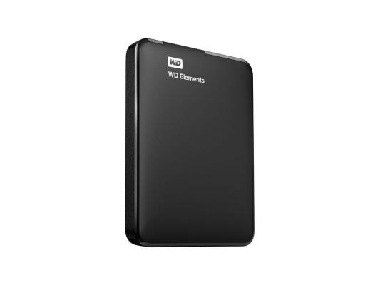 "Внешний жесткий диск Western Digital 1Tb WDBUZG0010BBK-EESN Elements Portable Black 2.5"" USB 3.0"