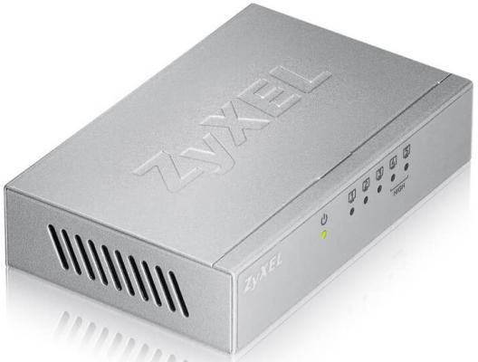 Коммутатор Zyxel ES-105A коммутатор zyxel gs1900 24e eu0101f