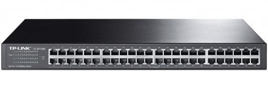 Коммутатор TP-Link TL-SF1048 коммутатор d link dgs 3120 48tc b1ari