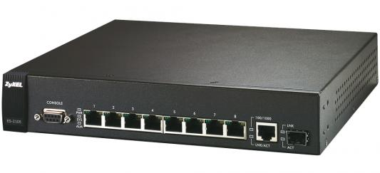Коммутатор Zyxel ES-2108PWR коммутатор zyxel gs1900 8 eu0101f
