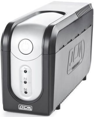 Источник бесперебойного питания Powercom IMP-825AP 825VA Черный цена