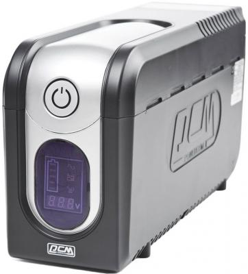 Источник бесперебойного питания Powercom IMD-825AP Imperial 825VA/495W Display,USB,AVR,RJ11,RJ45