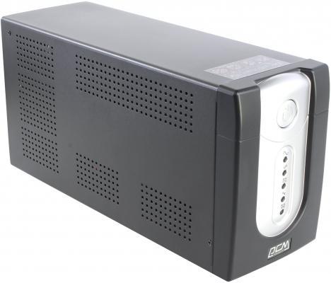 Источник бесперебойного питания Powercom IMP-1500AP Imperial 1500VA/900W USB,AVR,RJ11,RJ45 источник бесперебойного питания powercom imperial imp 1500ap 1500вa