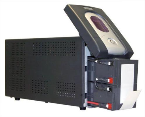 Источник бесперебойного питания Powercom IMD-1500AP Imperial 1500VA/900W Display,USB,AVR,RJ11,RJ45 источник бесперебойного питания ippon back power pro lcd 600