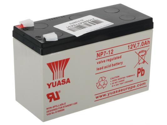 все цены на Аккумулятор Yuasa 12V7Ah NP7-12 онлайн