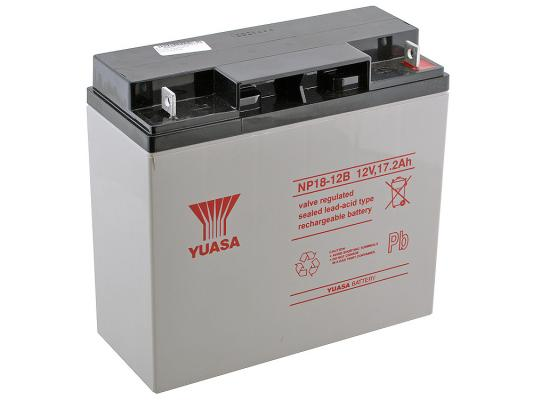 все цены на Аккумулятор Yuasa 12V17Ah (NP18-12)