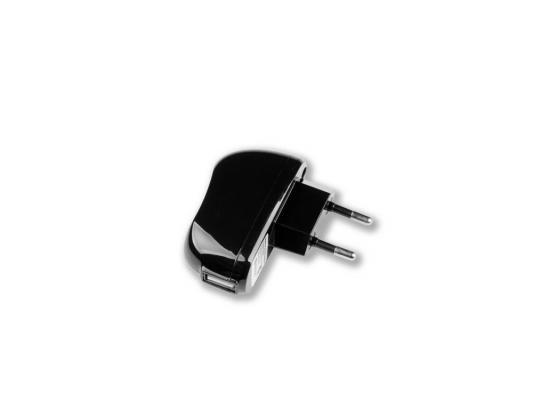 Сетевое зарядное устройство Deppa  USB, 2,1А, черный (23139)