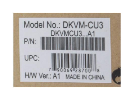 Комплект кабелей D-Link DKVM-CU3 USBx2, VGAx1 для DKVM-xU, KVM-221 3м